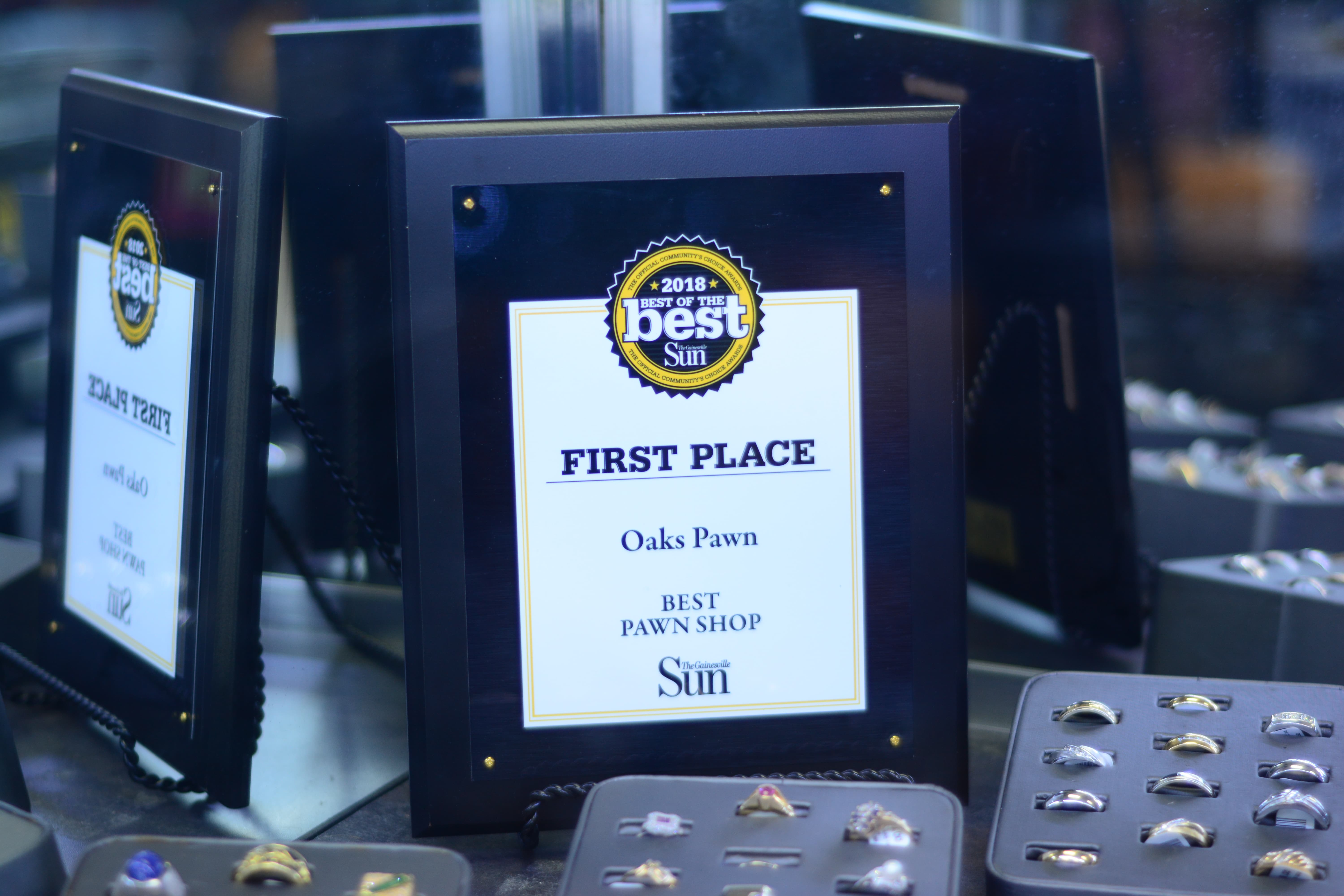 Oaks Pawn First Place Best Pawn Shop Gainesville Sun